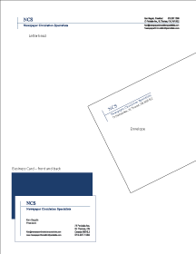 Corporate Identity - stationery system